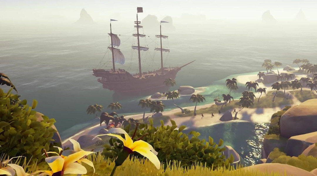 Sea of Thieves Trailer Shows Off Combat