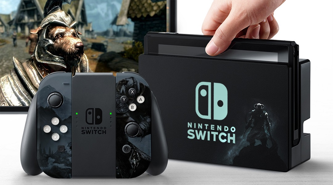 Nintendo Fan Makes Awesome Switch Console Skins