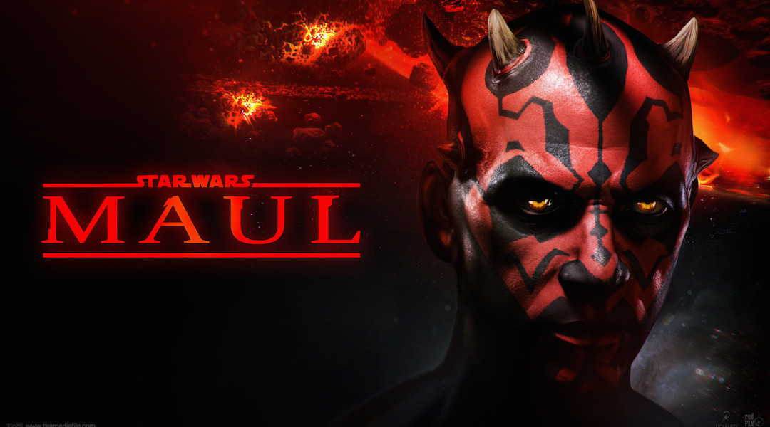 Cancelled Darth Maul Game Concept Art Surfaces
