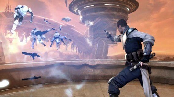Star Wars: The Force Unleashed 2 Review - Force Push