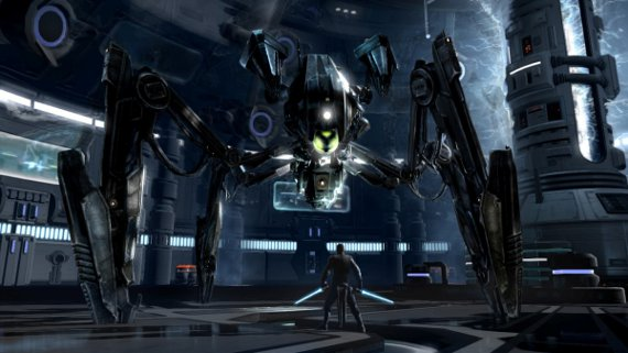 Star Wars: The Force Unleashed 2 Review - Droid