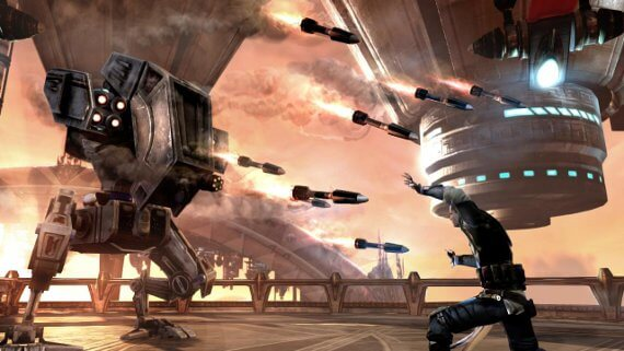 Star Wars: The Force Unleashed 2 Review - Rockets