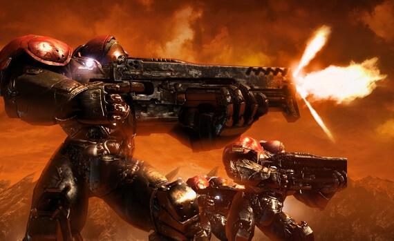 StarCraft 2 Review - Marines