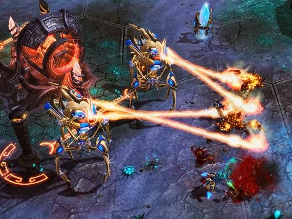 StarCraft 2 Review - Protoss