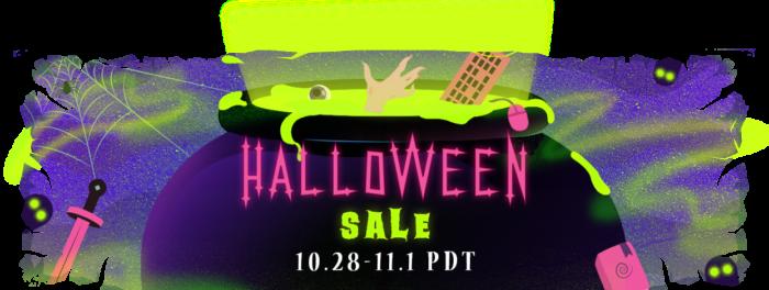 Steam Halloween Sale 2016 - Banner