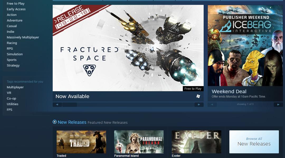 Steam Store UI Update Details Leak