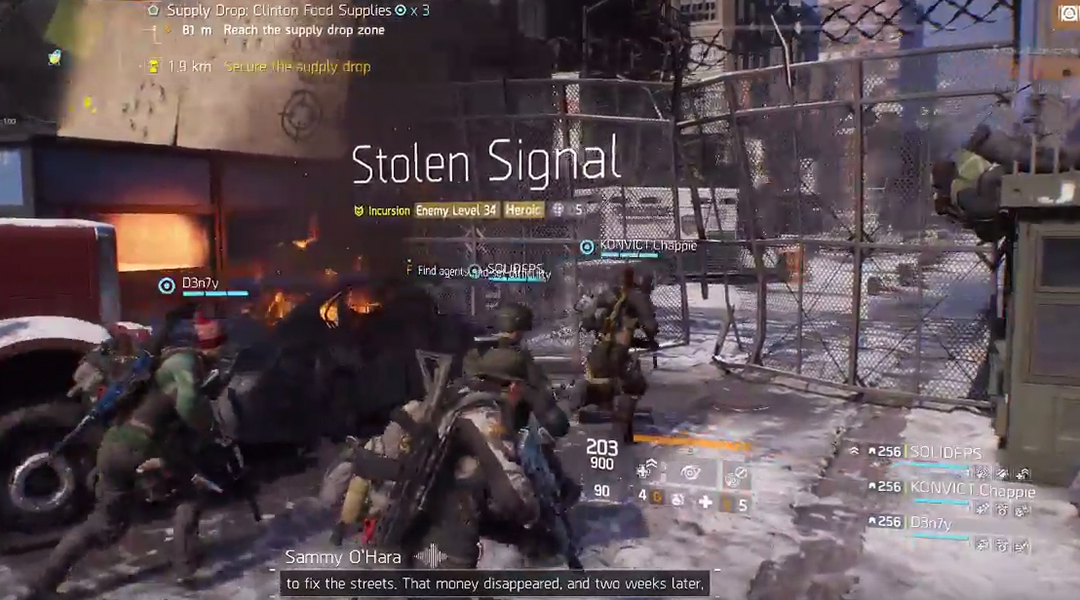 The Division Guide: How to Beat Stolen Signal Incursion