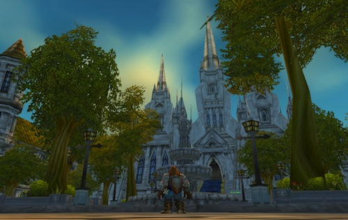 World of warcraft stormwind cathedral distance
