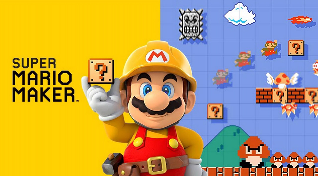 3DS Super Mario Maker Doesn't Have 3D Graphics
