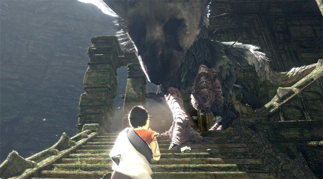 The Last Guardian Upscales to 4K on PS4 Pro