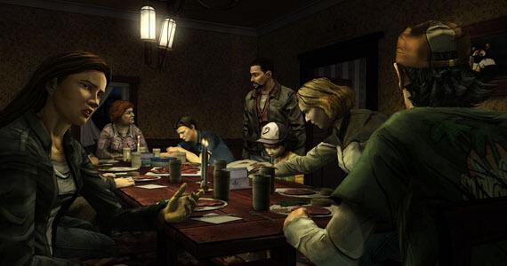 The Walking Dead Episode Two Dinner