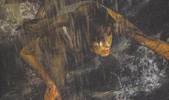 Tomb Raider - Lara Croft Quick Time Event