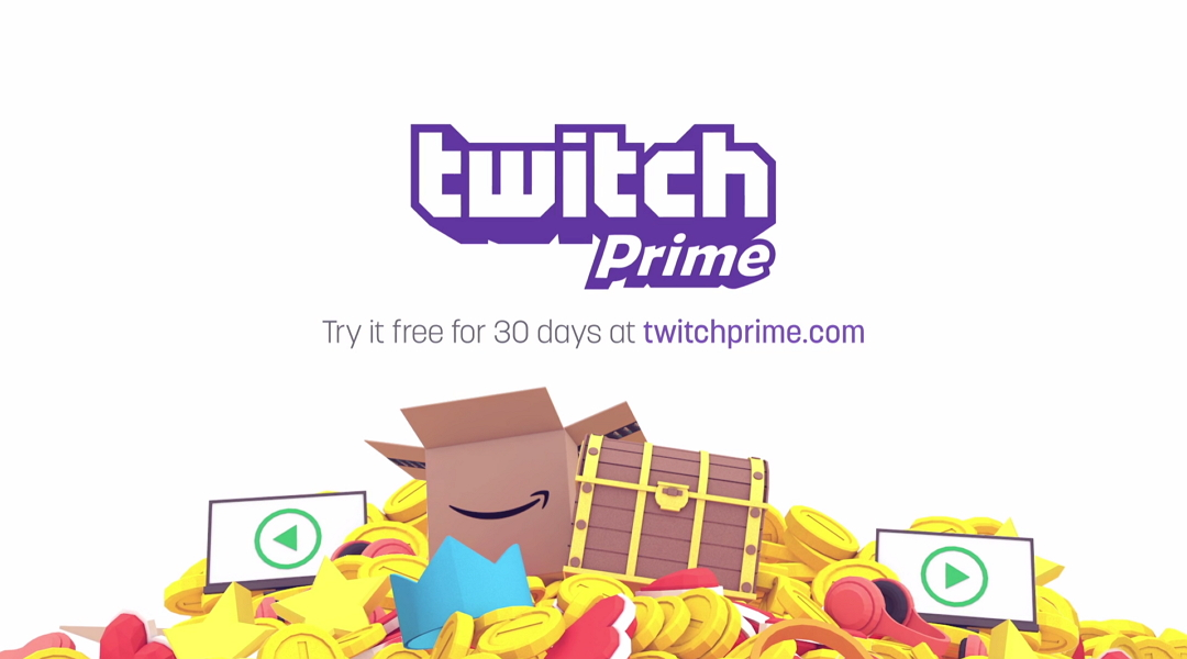 Twitch Prime Announced, Free with Amazon Prime