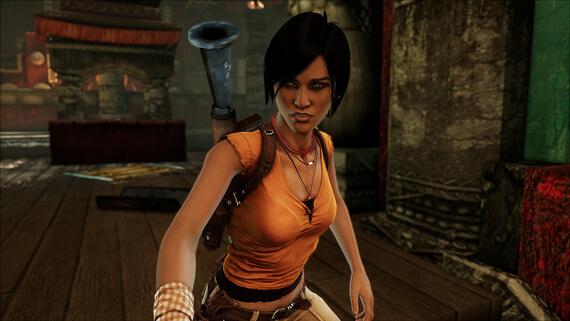 Uncharted 2 Sidekick Skins DLC