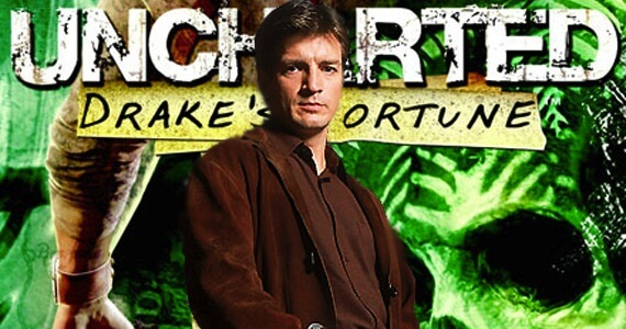 Nathan Fillion Using 'Inception' to Land Role of Drake in 'Uncharted' Movie