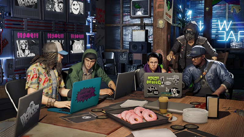 Watch Dogs 2 DedSec Meeting