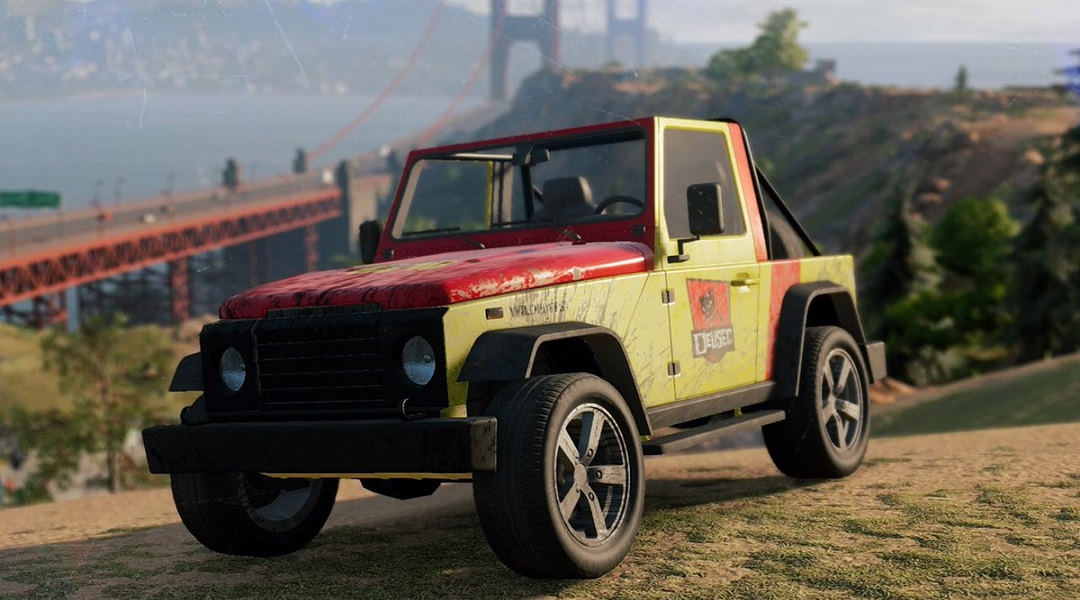 Watch Dogs 2 Guide: How to Unlock the Jurassic Park Jeep