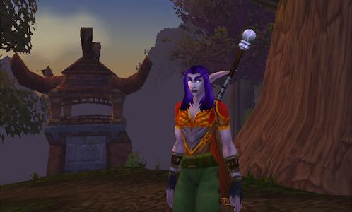 world of warcraft night elf druid