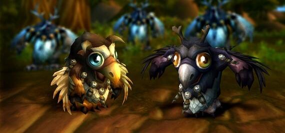 World of Warcraft - Adorable Moonkin Hatchling Pets