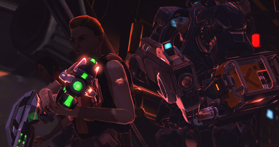 XCOM: Enemy Within Soldiers