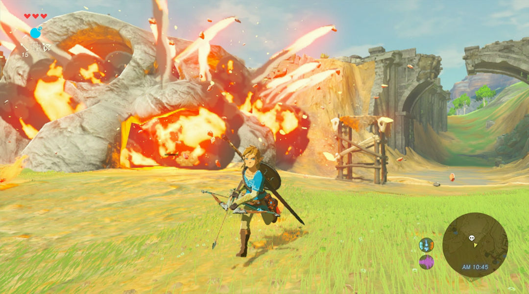 How The Legend of Zelda: Breath of the Wild Dungeons Have Changed