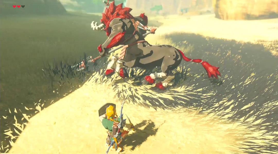 Zelda: Breath of the Wild Player Beats Hard Boss Using a Bookshelf
