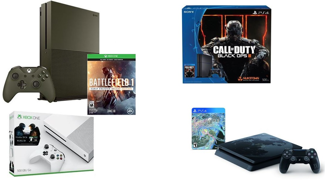 Best PS4 & Xbox One S Deals As PS4 Slim Releases